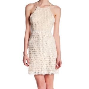 Romeo & Juliet Couture High Neck Mini Dress